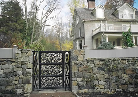 Garden Gate with side infill